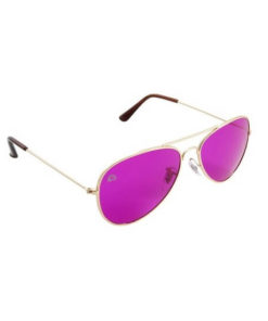Rainbow OPTX Aviator Glasses Magenta