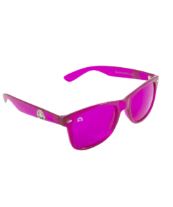 Rainbow OPTX Translucent Glasses Magenta