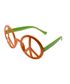 Two Tone Peace Glasses